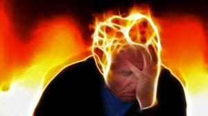 sprängande huvudvärk