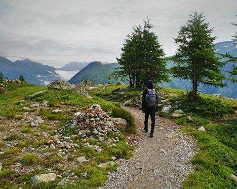 vandra i bergen