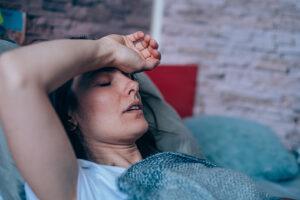 Svårt att sova