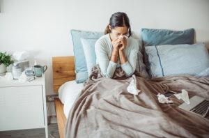 covid med delta-varianten ger förkylningssymtom