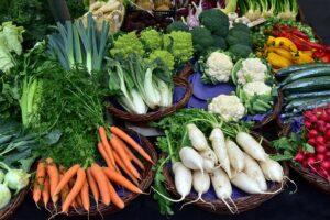 Grönsaker, broccoli, kål