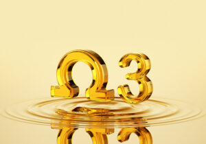 Omega-3 grekiska bokstaven
