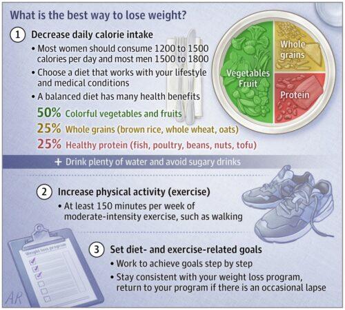Vilken metod är bäst för att gå ned i vikt?